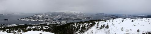 Sula and Ålesund view