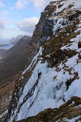 Still ice on the mountain