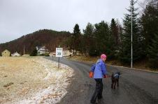 Towards Kleppeåsen