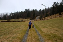 Towards Helgornvatnet
