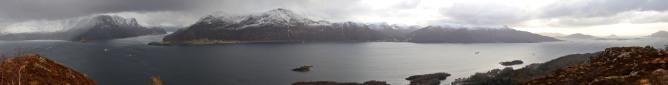 Kyrkjehornet panorama (1/2)