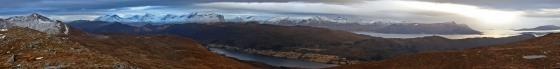 Panorama from Nørdbergsheida