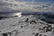 Down the ridge