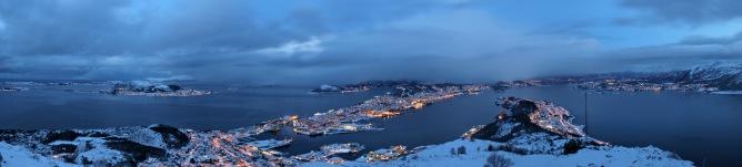 Ålesund, panorama