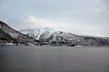 Storehaugfjellet seen from Sogndal