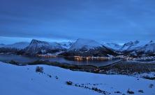 View across Vartdalsfjorden
