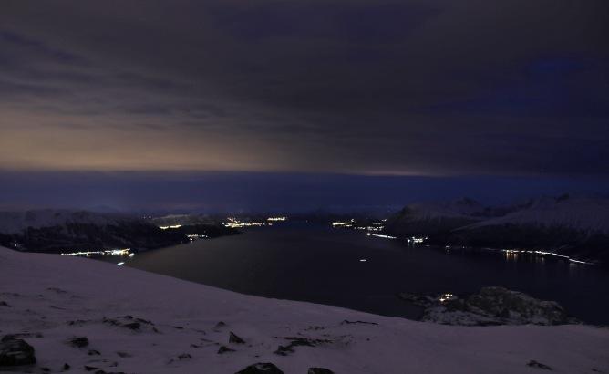 View up Storfjorden