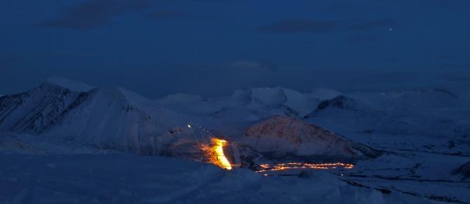 Ørskogfjellet skiing centre