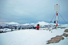 On top of Nihusen
