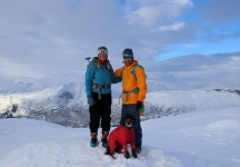 On the real top of Vorfjellet