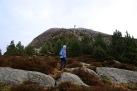 Up the west ridge