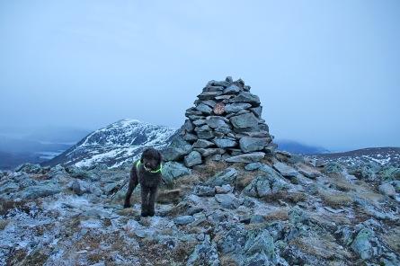 On top of Løkeberget