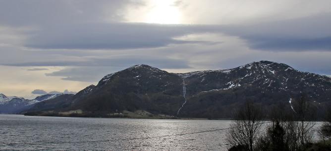 Sandfjellet and Bjørlykkjehornet