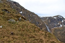 We continue up the ridge