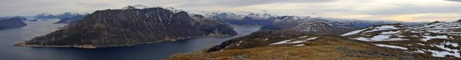 Sandfjellet panorama (1/3)