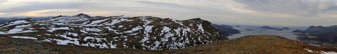 Sandfjellet panorama (2/3)