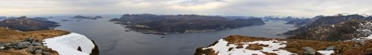 Bjørlykkjehornet panorama (1/2)