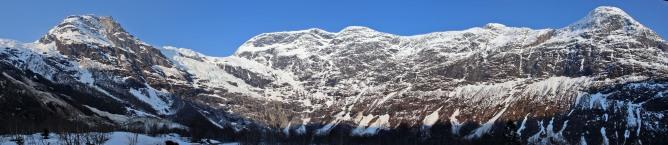 Bøyrabreen panorama