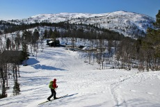Heading out from Seimsåsen