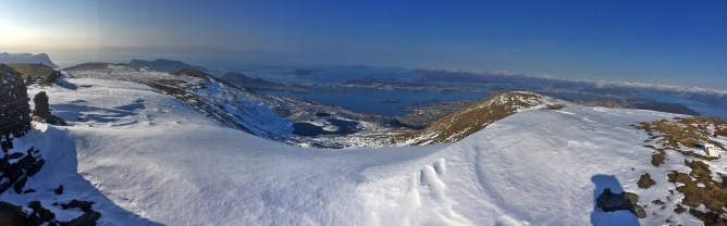Iphone panorama from the top