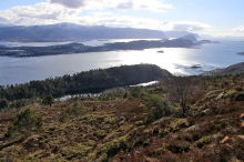 The Skulen ridge