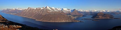 The Vartdal-Ørsta peaks