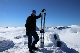 Me and my Nansen skis
