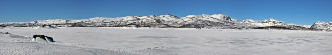 Panorama from the lake