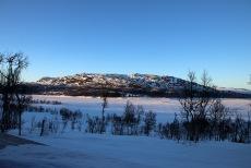 Kvamsfjellet seen the evening before