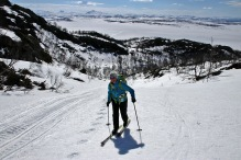 Nice terrain for skiing!
