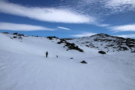 Skiing wherever it made sense