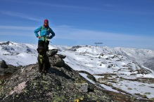 On Magnusgrønutane with Skinfjellet in the background