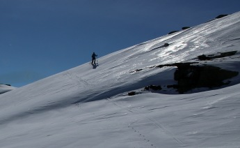 Up and down along the ridge