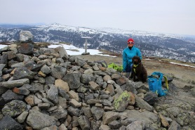 On top of Fjellenden