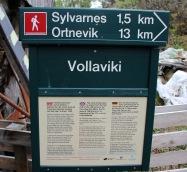 Vollaviki signpost