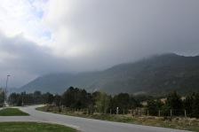 Storhornet in fog