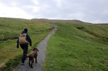 Nice mountain path!
