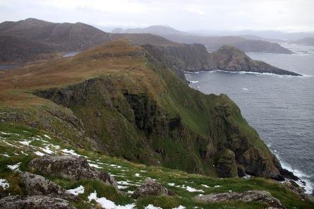The mountain plateau