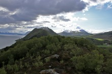The ridge towards Ulsettua and Kongsvollen