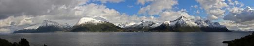 Vartdalsfjorden peaks