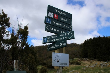 Signposts at Hangsete