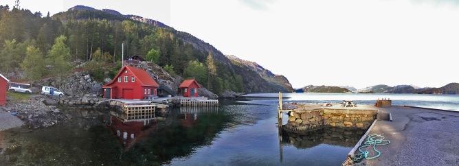 The cabin at Klauvene