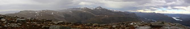 Haukånipa panorama (2/2)