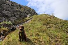 On the ledge to Steinheia