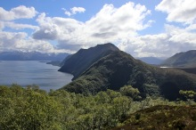 View towards Kongsvollen