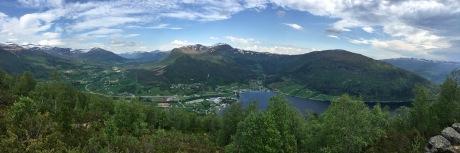 View towards Grodås