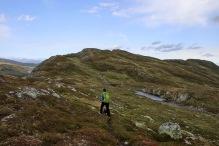 Onto the ridge