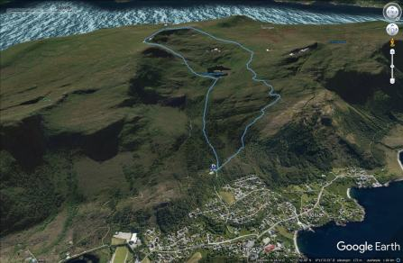 Our route across Sulafjellet