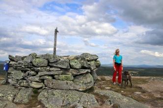 On top of Qvintushøgda