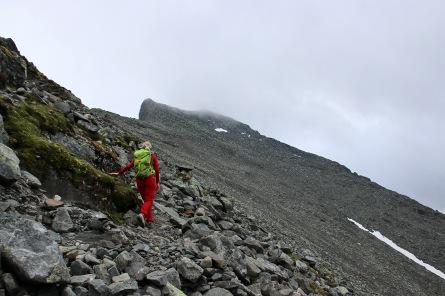 The ridge is getting closer